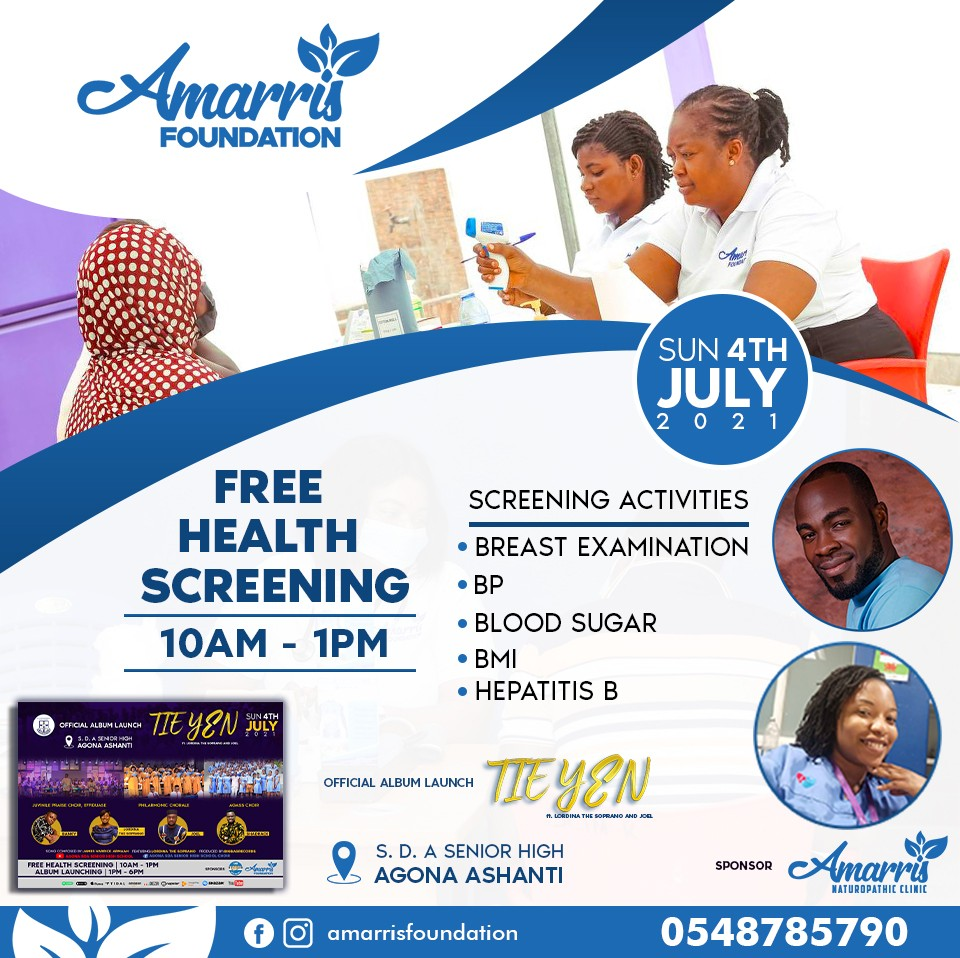 Free health Screening/Album Launch